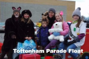 Tottenham Parade Float