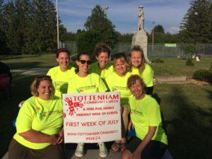 Shira and volunteers for Tottenham Community Week