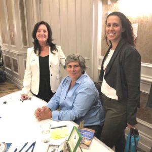 Kimberley Burgess, Helen Humphries and Shira.